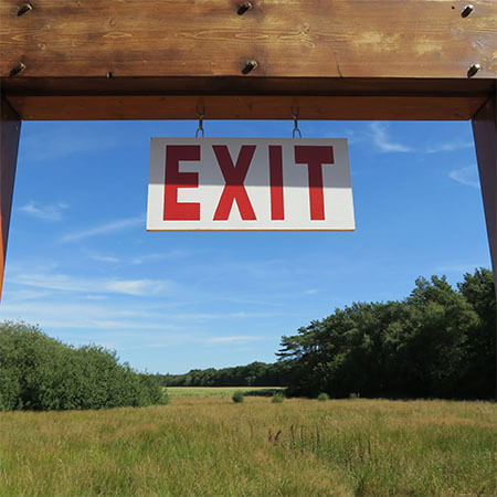 Outside Exit